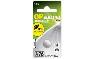 GP Alkaline Knappcell 1,5V Batteri LR44