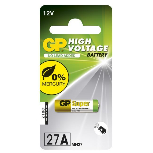 GP Alkaliskt specialbatteri 12V 27A