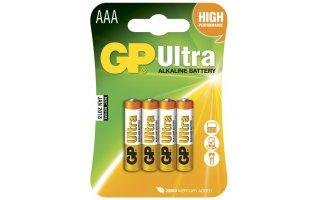 GP Ultra Alkaline 1,5V Batteri LR03/AAA