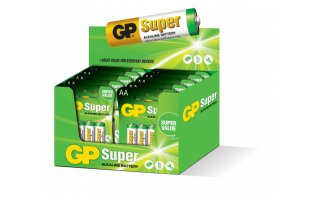 GP Super Alkaline 1,5V Batteri LR06/AA