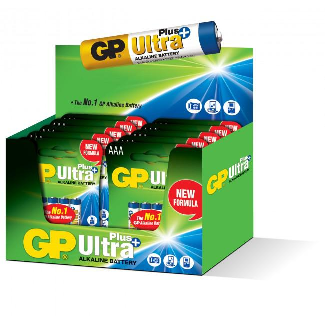 GP Alkaline Ultra Plus 1,5V Batteri LR03/AAA