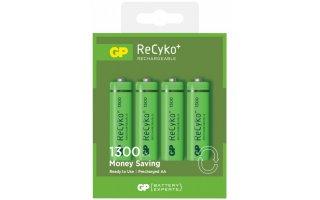 GP ReCyko AA-batteri 130AAHCE-2GB4/R6