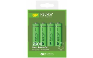 GP ReCyko AA-batteri, 270AAHCE-2GBW4/R6