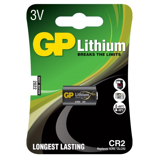 GP Lithium Batteri CR2/3V