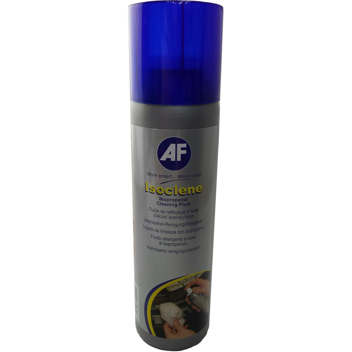 AF Isoclene Tryckluftspray Isopropanol Alkohol 250 ml