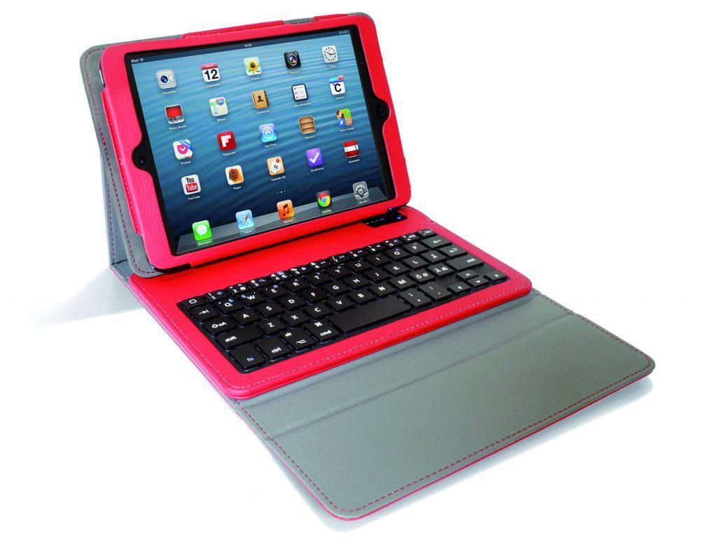 ISOTECH Tangentbord med Fordal till iPad Mini