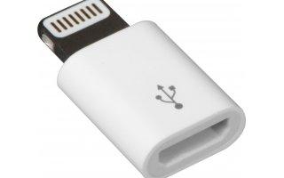 APPLE Lightning-till-mikro-USB-adapter