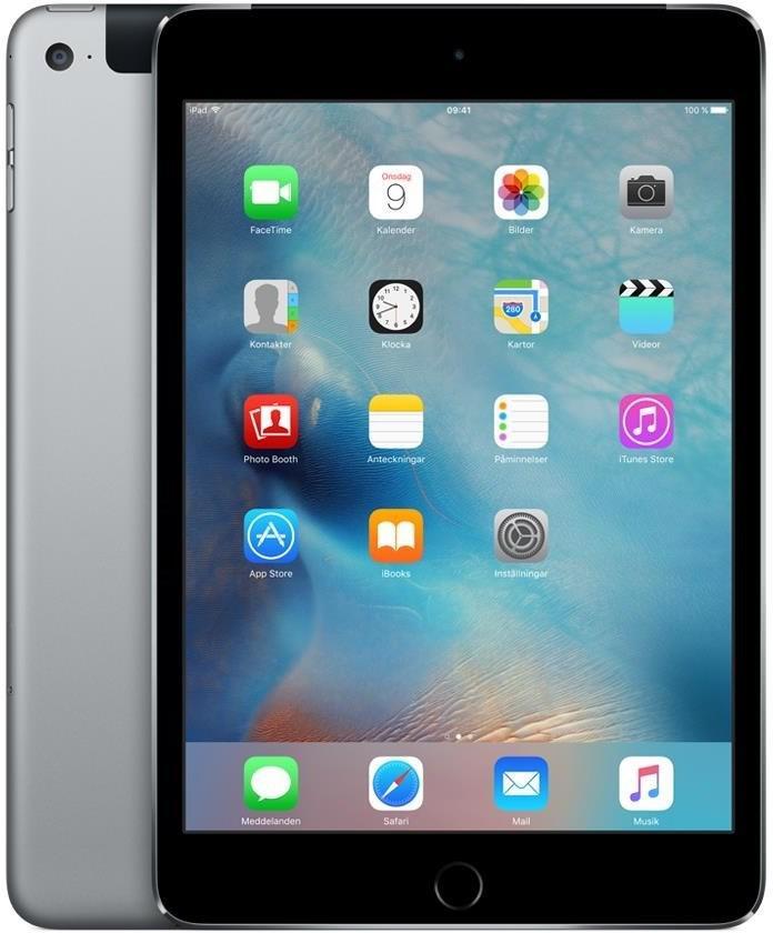 APPLE iPad mini 4 Wi-Fi + Cellular 128GB Space Grey