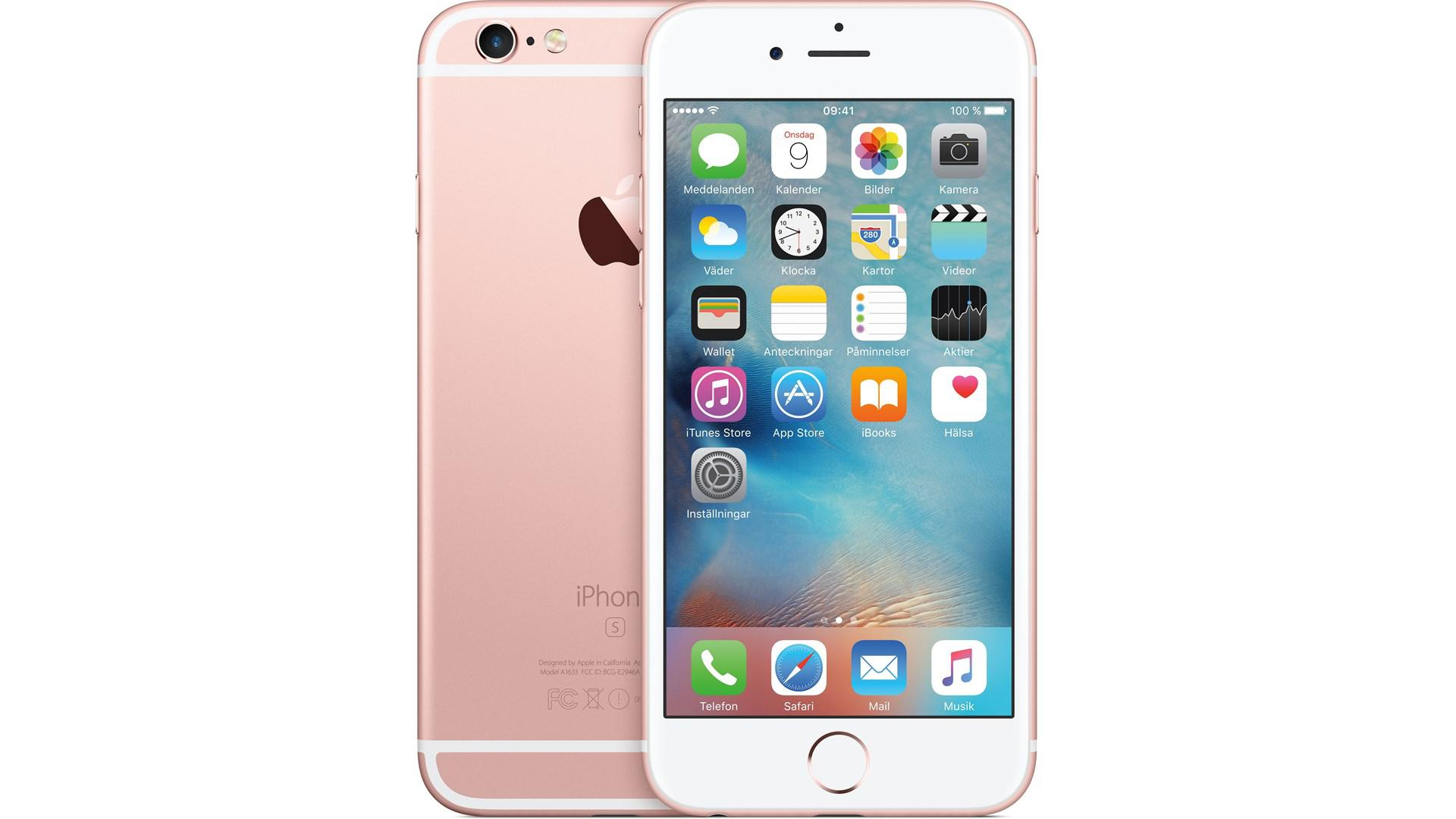 APPLE Iphone 6 S 128GB Rose/Guld
