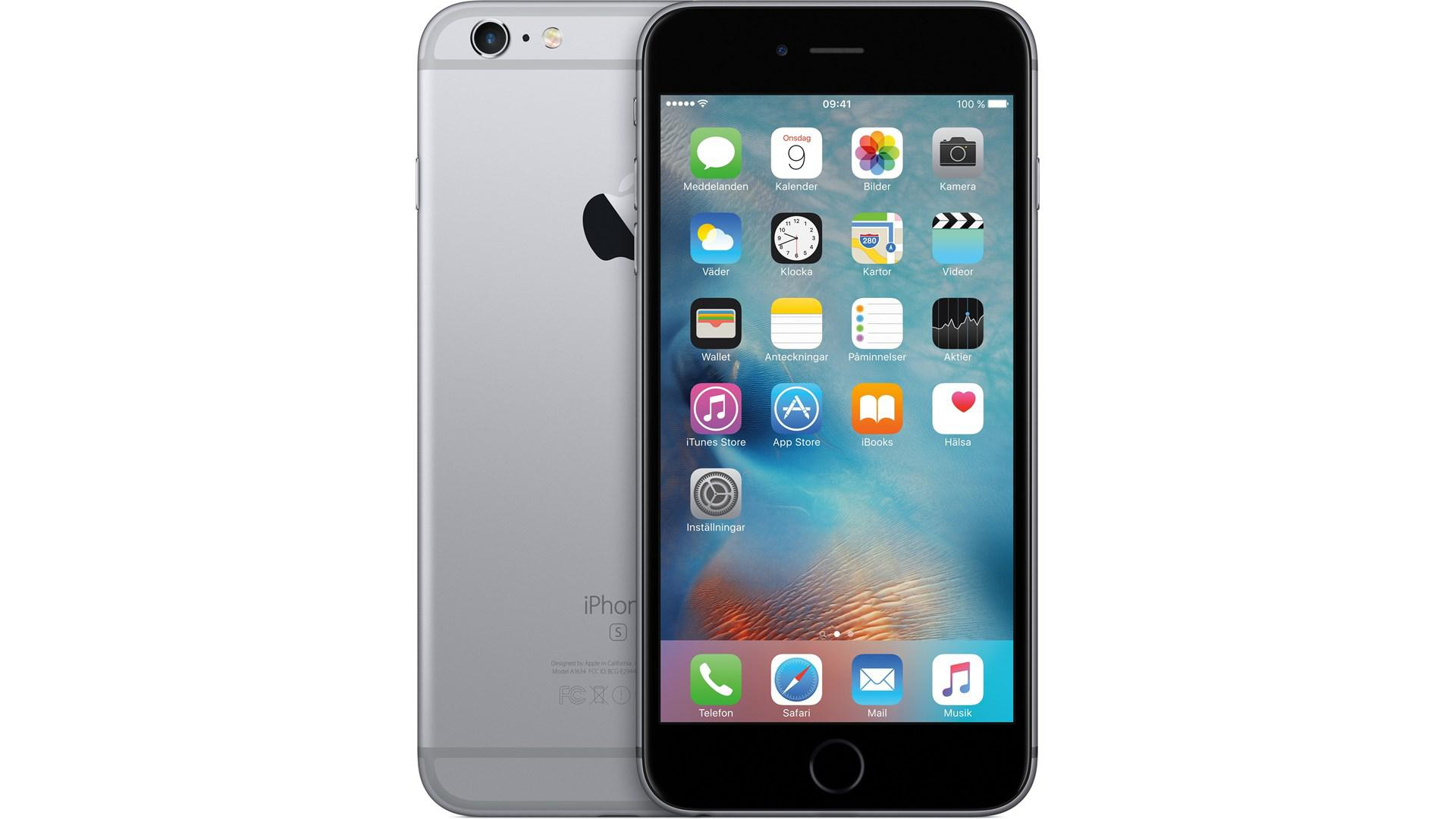 APPLE iPhone 6 S Plus 128GB Space-Grå