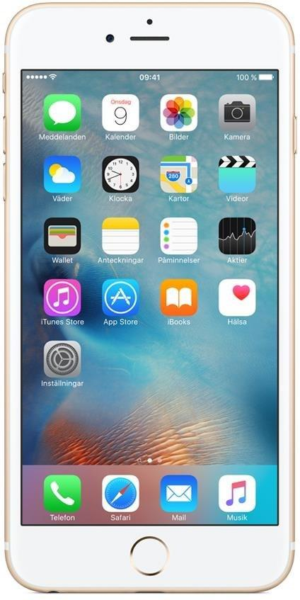 APPLE iPhone 6 S Plus 128GB Guld
