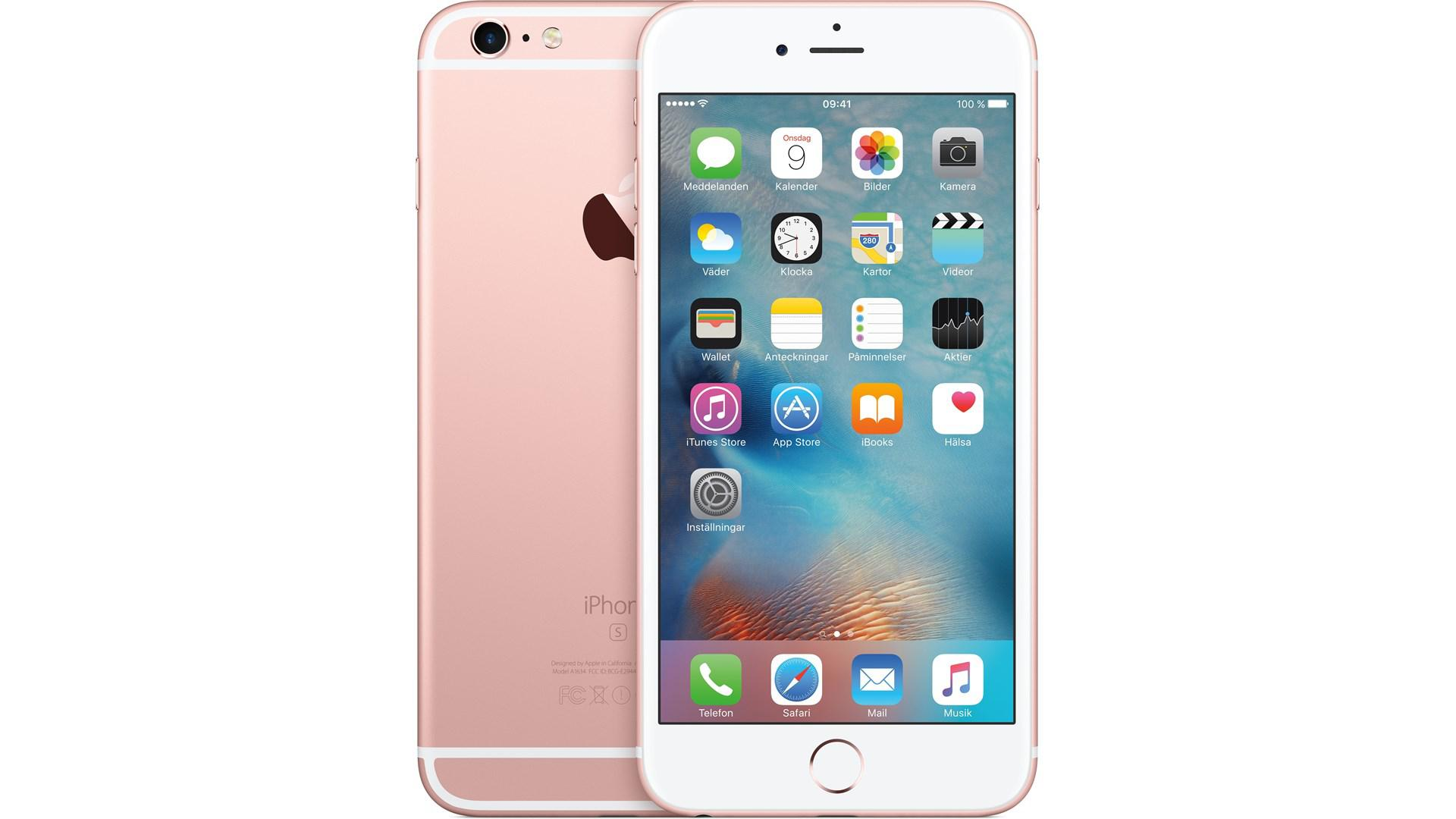 APPLE iPhone 6 S Plus 128GB Rosa-Guld