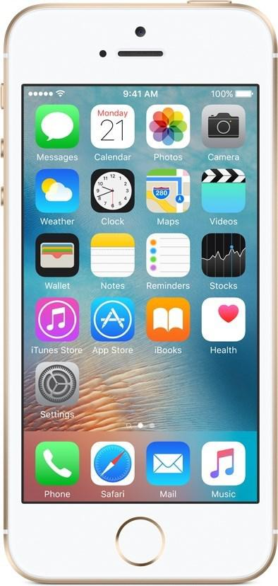 APPLE iPhone SE 16 GB Guld