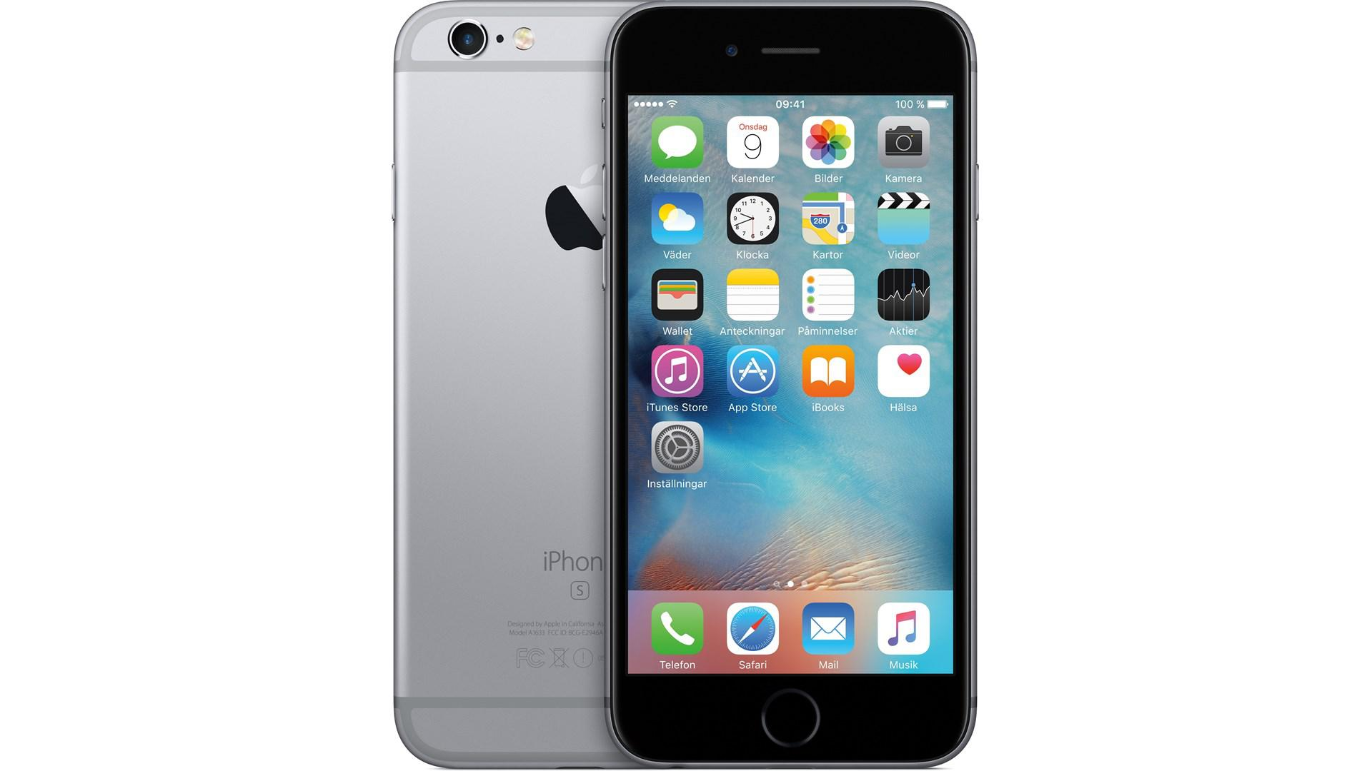 APPLE iPhone 6 S 32GB Space-Grå
