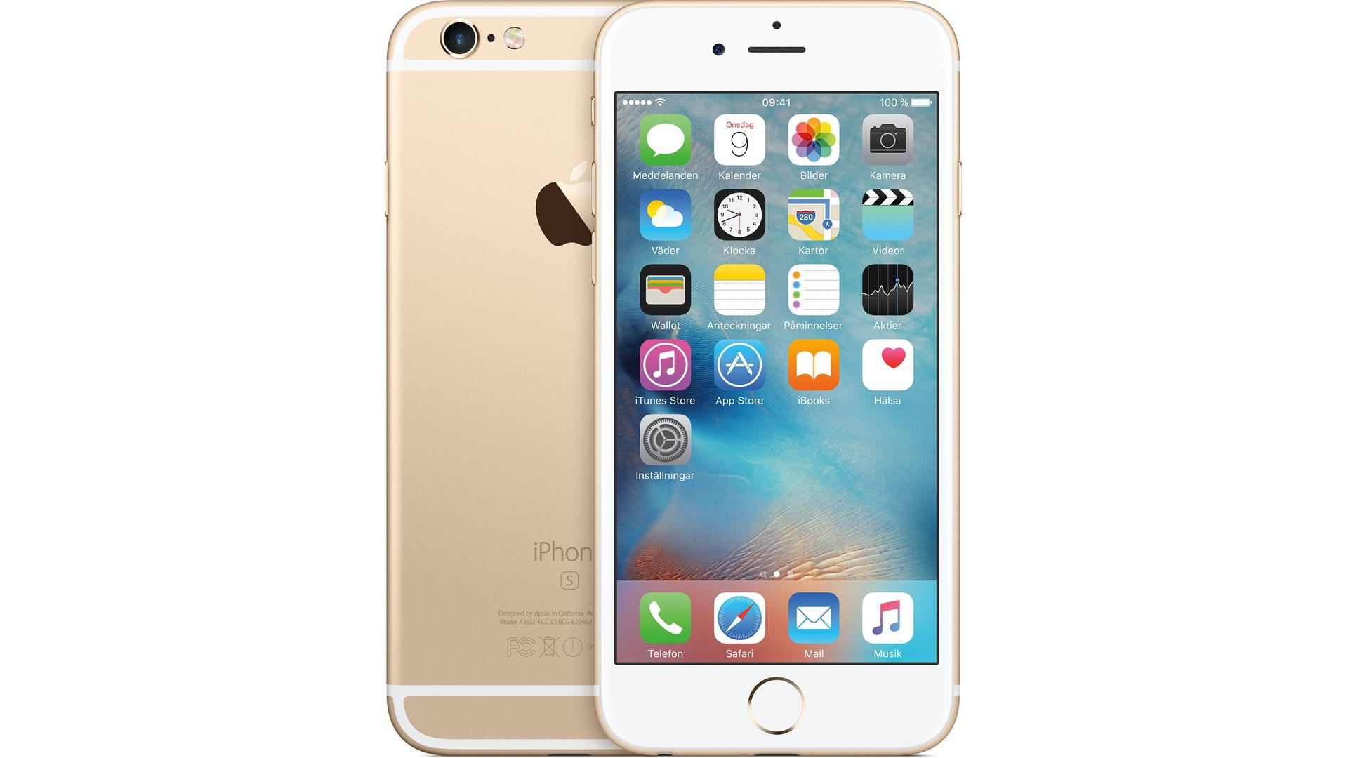 APPLE iPhone 6 S 32GB Guld