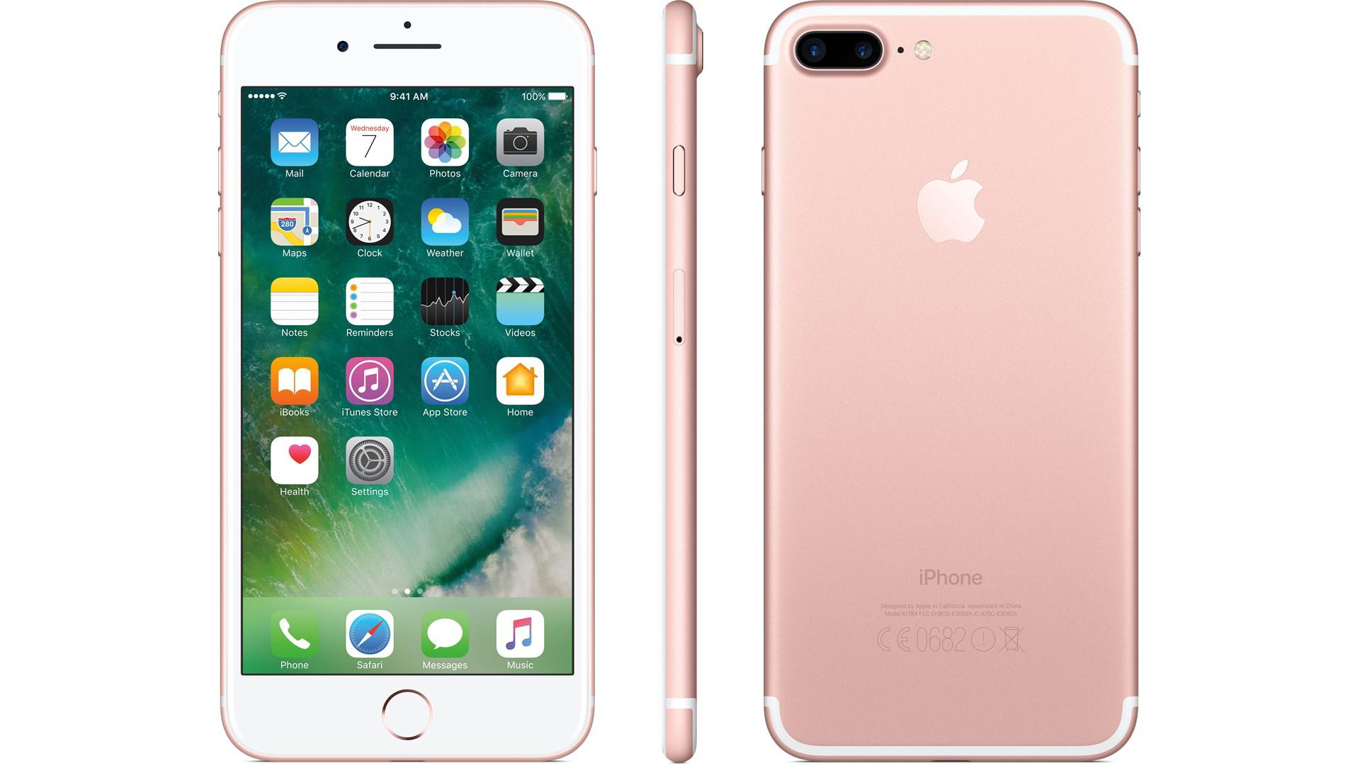 APPLE iPhone 7 Plus 128GB Rosa-Guld
