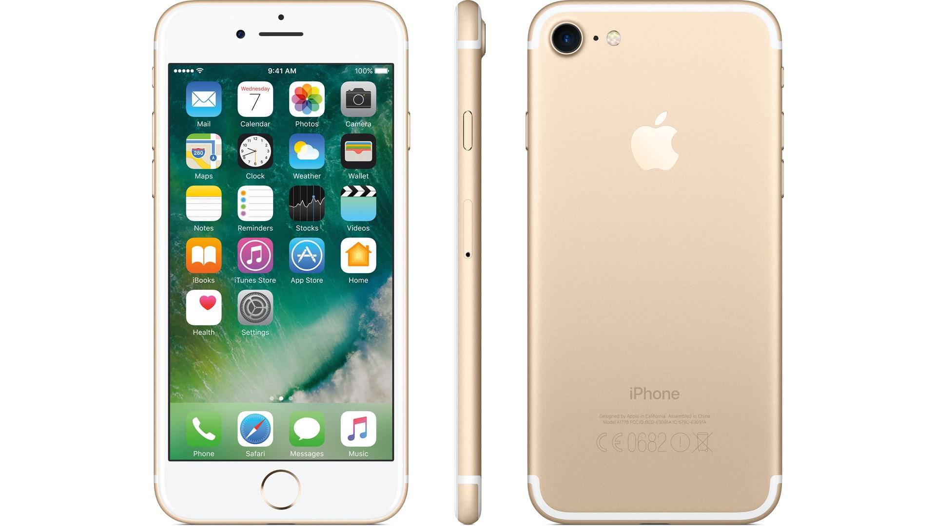 APPLE iPhone 7 128GB Guld