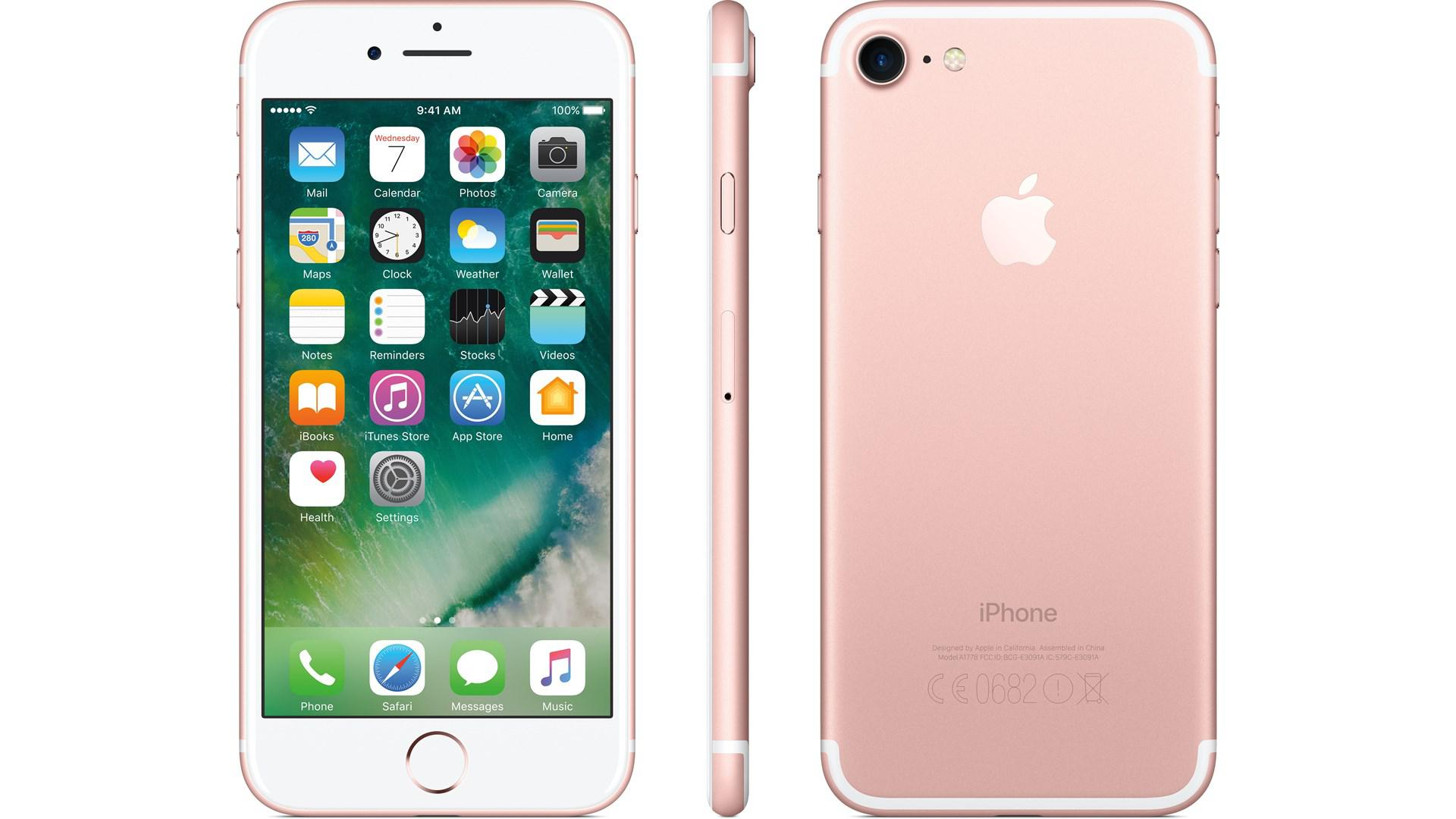 APPLE iPhone 7 128GB Rosa-Guld