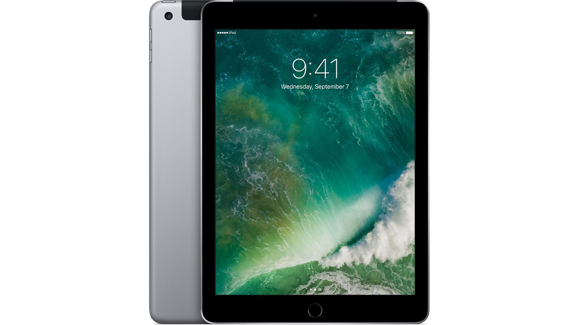 APPLE iPad Wi-Fi+Cell 128GB Space Grå