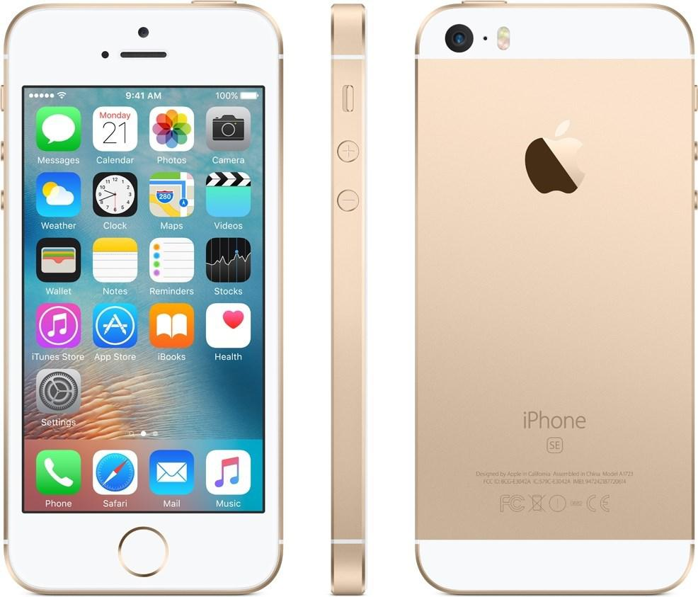 APPLE iPhone SE 128 GB Guld