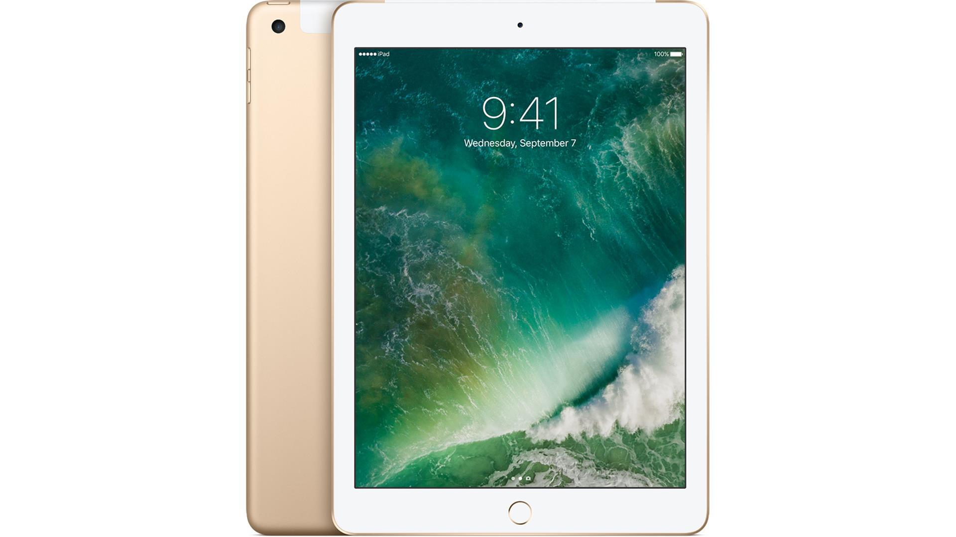 APPLE iPad Wi-Fi+Cell 128GB Guld