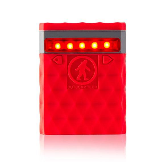 OUTDOOR TECH Kodiak 2.0 USB Powerbank 6000 mAh Röd