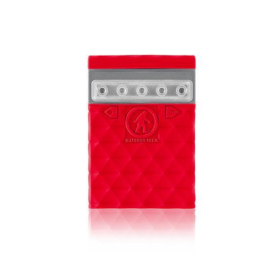 OUTDOOR TECH Kodiak Mini 2.0 USB Powerbank 2600 mAh Röd