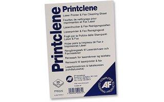 AF Printclene A4 Rengöringsark för laserskrivare