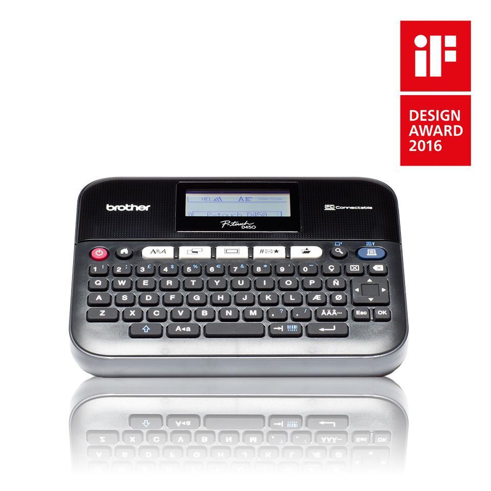 BROTHER P-touch D450VP Märkmaskin PC-ansluten