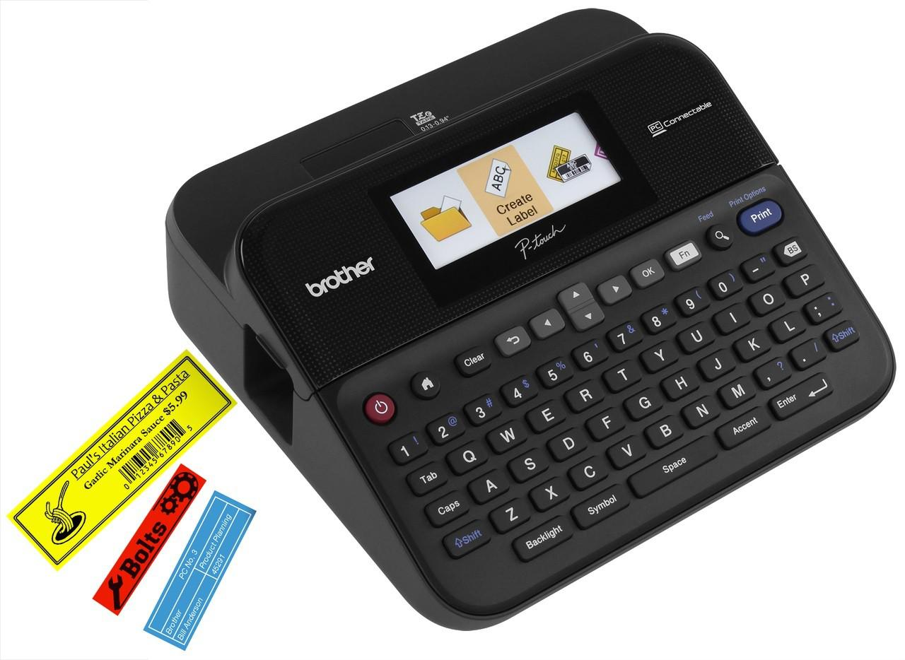 BROTHER P-touch PT-D600VP Märkmaskin PC-ansluten