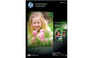 HP A4 Glättat Fotopapper för vardagsbruk 200 gram