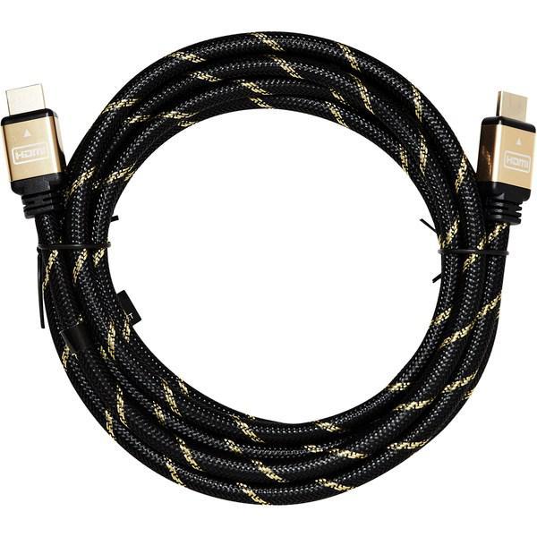 ROLINE Guld HDMI High Speed Kabel med Ethernet 1m