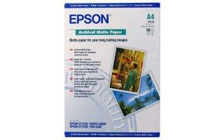 EPSON A4 Matt Fotopapper 192 gram
