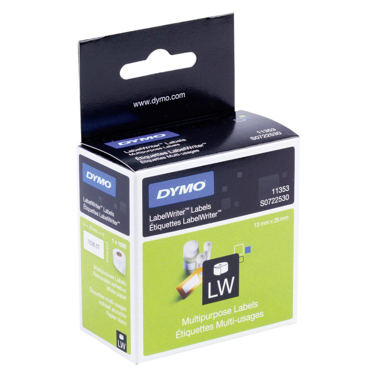 DYMO AllRound Etikett 12mm x 24mm