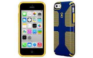 SPECK iPhone 5c CandyShell Grip Cadet Blue/Gold Yellow