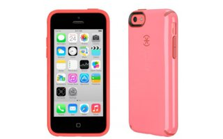 SPECK iPhone 5c CandyShell Splash Pink/Poppy Red Core