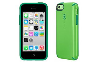 SPECK iPhone 5c CandyShell Leaf Green/Dark Forest Green