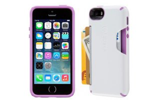 SPECK iPhone 5/5s CandyShell Card White/Revolution Purple