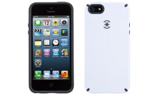 SPECK iPhone 5/5s CandyShell White/C harcoal Grey
