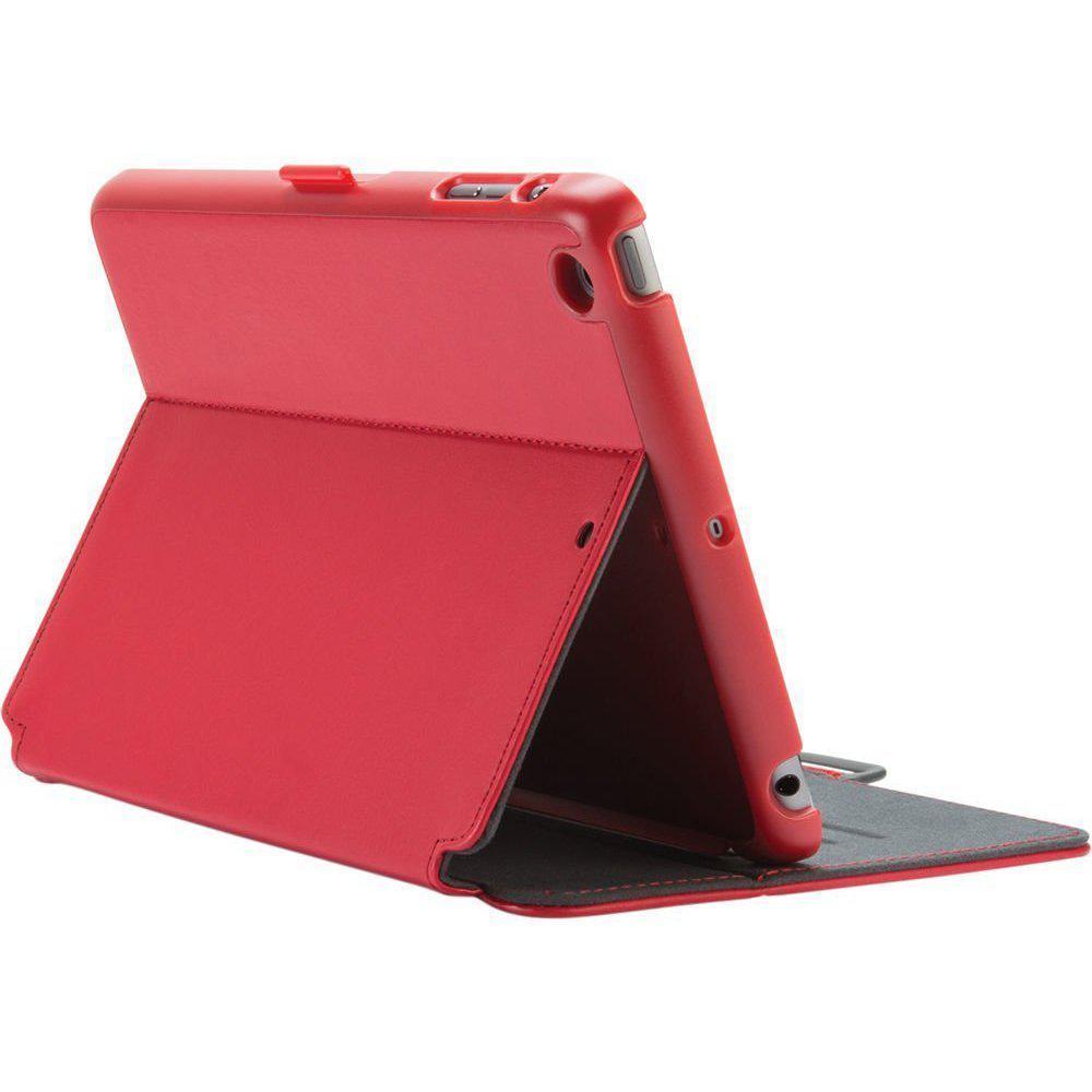 SPECK StyleFolio Fodral iPad Mini, 2 and 3 Röd/Grå