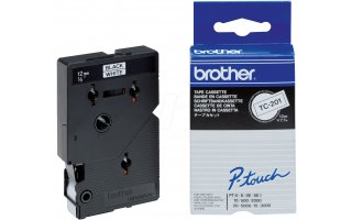 BROTHER P-Touch TC-201 Etikettape 12 mm