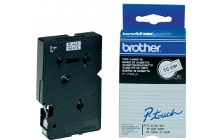 BROTHER P-Touch TC-291 Etikettape 9mm