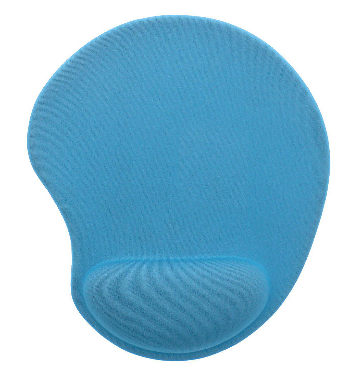 TNB Ergo Design Musmatta med handledsstöd Ljusblå
