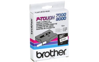 BROTHER P-Touch TX-221 Etikettape 9mm