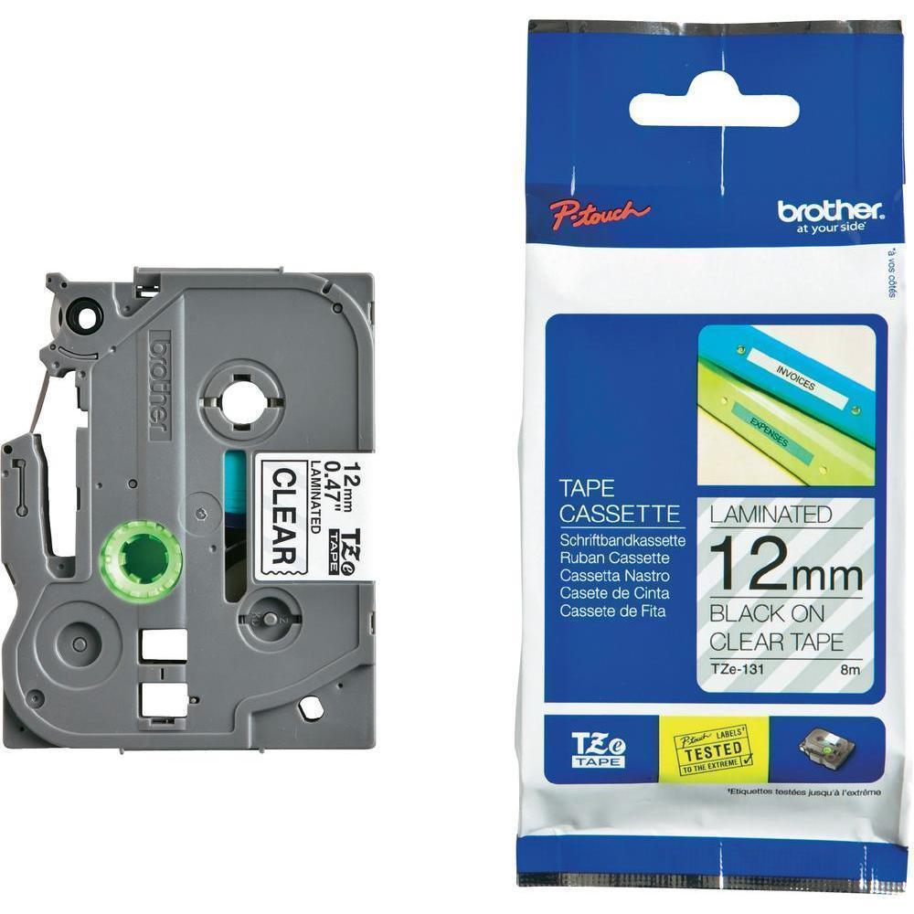 BROTHER P-Touch TZE-131S Etikettape 12mm