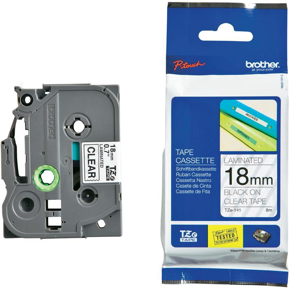 BROTHER P-Touch TZE-141 Etikettape 18mm