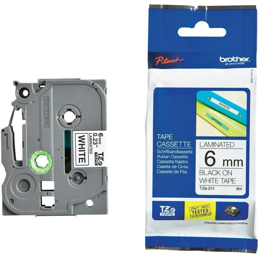 BROTHER P-Touch TZE-211 Etikettape 6mm
