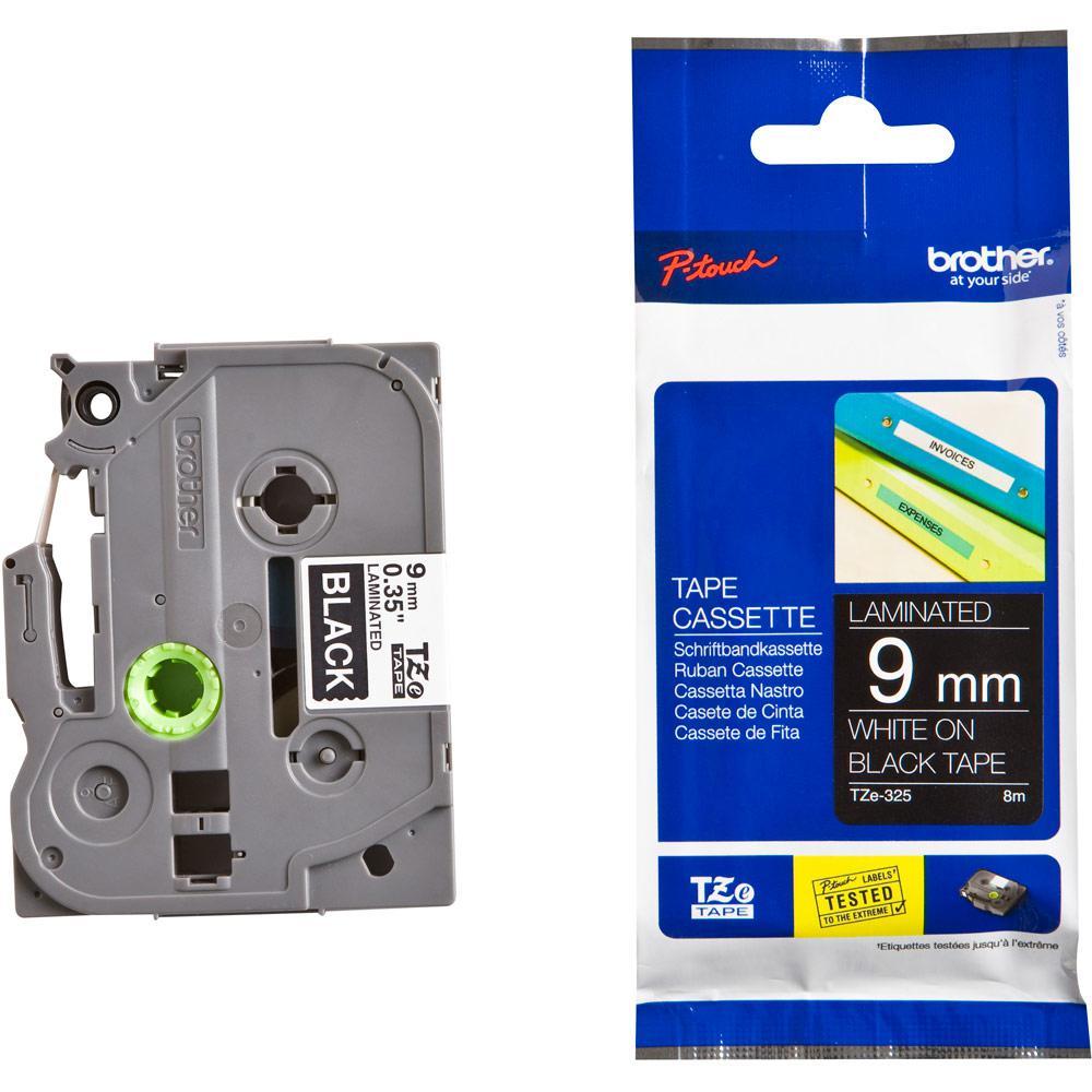BROTHER P-Touch TZE-325 Etikettape 9mm