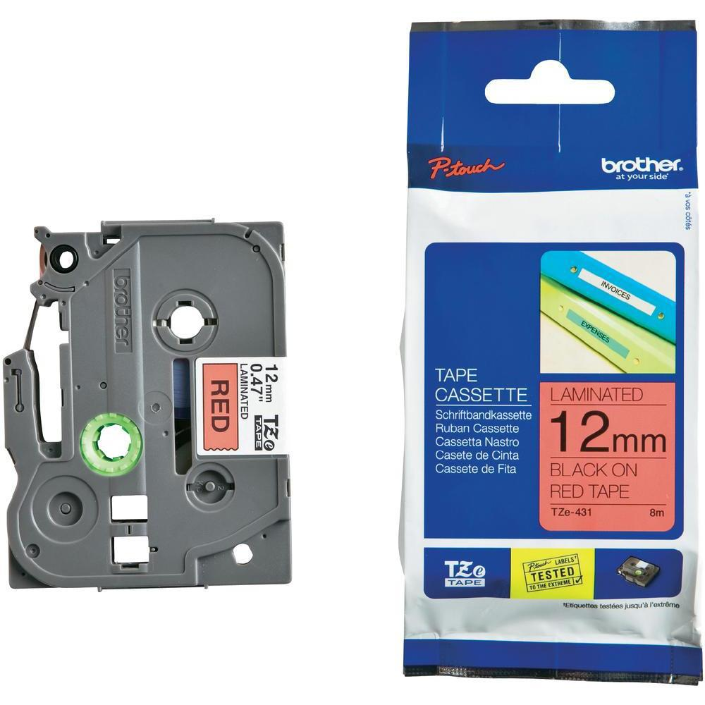 BROTHER P-Touch TZE-431 Etikettape 12mm