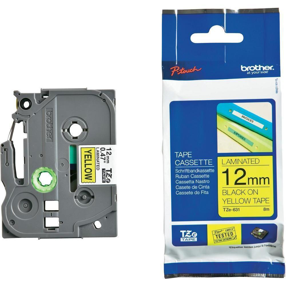 BROTHER P-Touch TZE-631S Etikettape 12mm